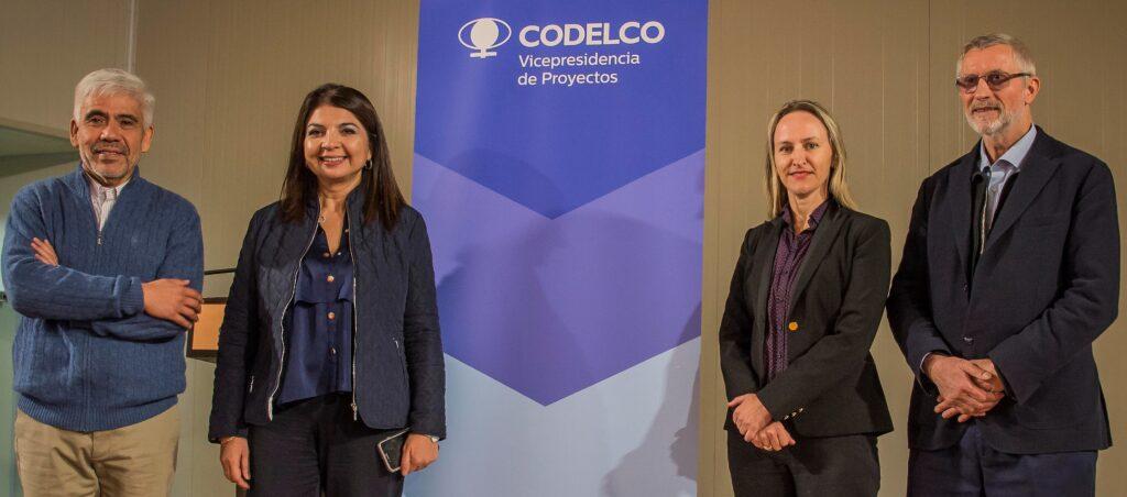 Liliana y Ejecutivos de CODELCO VP